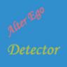 Alter Ego Detector